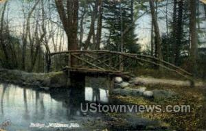 Bridge Middlesex Fells MA 1903