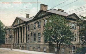 Provincial Parliament Buildings - Halifax NS, Nova Scotia, Canada - pm 1910 - DB