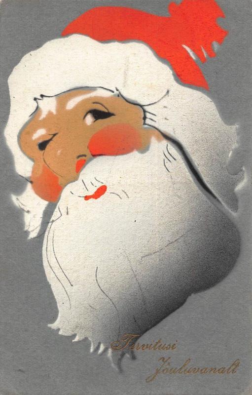 Santa Claus Father Christmas Finland Postcard
