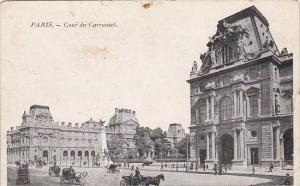 France Paris Cour du Carrousel