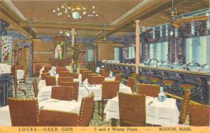 United States Locke Ober Cafe Boston