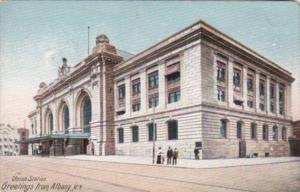 New York Albany Union Railway Station