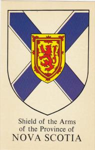 Canada Shield Of The Arms Of Province Of Nova Scotia