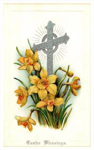EASTER   Cross  flowers