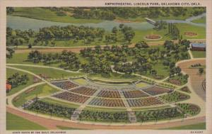 Oklahoma Oklahoma City Amphitheatre Lincoln Park Curteich