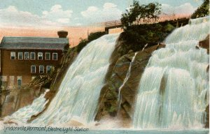 VT - Lyndonville. Electric Light Station and Falls