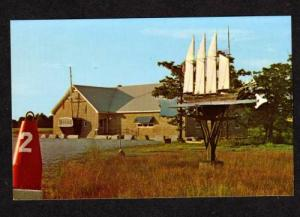 ME Reed's Gift Shop SOUTH WARREN MAINE POSTCARD
