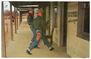Farmingdale, N.J., Outlaws Robbing The Bank at Cowboy City