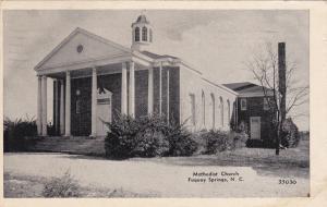 Methodist Church , FUQUAY SPRINGS , North Carolina , 1953