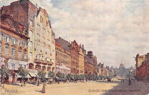 BT1975 Dolejski cast baclavskeho namesti Prag praha prague   czech republic