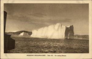 French Mission Eskimos Arctic Greenland or Newfoundland? c1915 Postcard #2