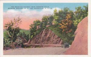 South Carolina Greenville The Mountain Highway Near Contestee Falls Between B...