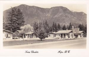 RP; HOPE, British Columbia, Canada, 30-40s; Swiss Chalets Motel