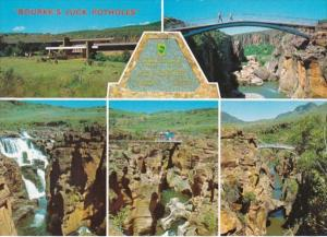 South Africa Eastern Transvaal Bourkes Luck Potholes