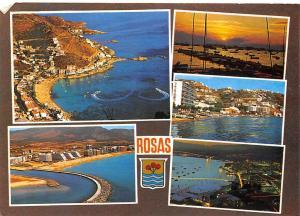 Spain Costa Brava Rosas Varios aspectos 1985