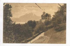 House overlooking Lake Lucerne,Villa Alpenblick,Lucerne,Switzerland 1900-10s