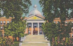 New Mexico Santa Fe State Capitol Curteich