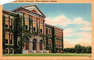 Indiana West Lafayette Agricultural Hall Purdue University