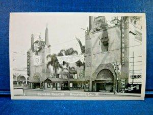 C.1949 Chinese Theatre Hollywood, Ca. Marx Bros. Bob Plunkett Photo RPPC