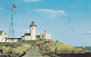 Eastern Point Lighthouse, Gloucester, Cape Ann, Massachusetts 1977