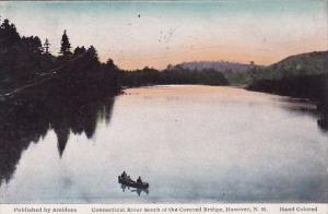 New Hampshire Hanover Connecticut River South Of The Covered Bridge 1931