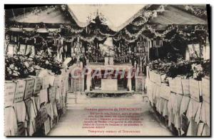 Old Postcard Douaumont Ossuary Provisional Army