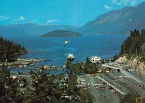 WEST VANCOUVER, British Columbia, Canada, 1980s; Horseshoe Bay