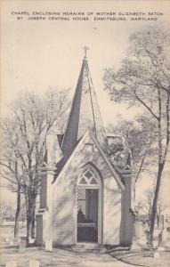 Chapel Enclosing Remains Of Mother Elizabeth Seton, St. Joseph Central House,...
