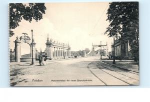 *Potsdam Germany Monumentalbau der neuen Glienickerbrucke Vintage Postcard C67