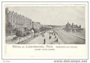 NICE, France, 00-10s  Hotel De LUXEMBOURG