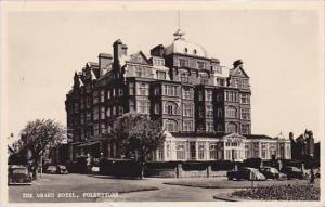United Kingdom Folkestone The Grand Hotel RPPC