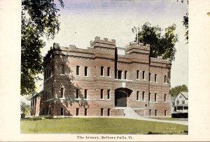 VT - Bellows Falls. The Armory