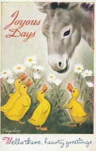 Donkey & Ducks , Artist Taylor  , 30-50s