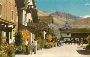 Advertising Union Pacific Railroad Challenger Sun Valley Idaho Postcard 2975