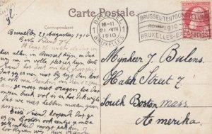 BRUSSELS , Belgium , Exposition 1910 ; La Section Allemande