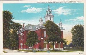 Tennessee Lebanon Caruthers Hall Cumberland University
