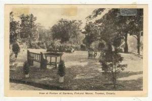 View Of Portion Of Gardens, Firhurst Manor, Trenton, Ontario, Canada, PU-1940