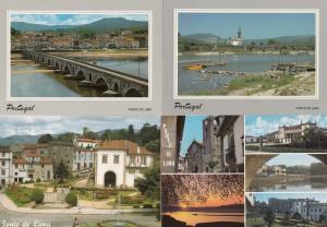 Ponta De Lima Portugal 4x Postcard s