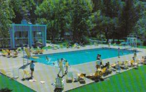 Canada Swimming Pool At Harrison Hotel On Harrison Lake British Columbia