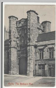 Somerset; Wells The Bishop's Eye PPC By Frith, 1915, To Miss White, Crowborough