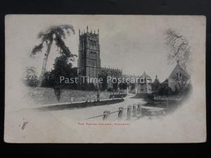 Gloucestershire CHIPPING CAMPDEN PARISH CHURCH - Old Postcard by Horne's Series