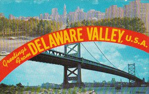 Greetings From Delaware Valley U S A