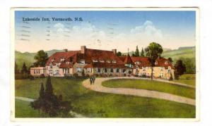 Lakeside Inn, Yarmouth, nova Scotia, Canada, PU-1936