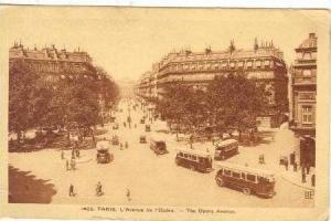 L'Avenue de I'Opera, Paris, France, 1900-1910s