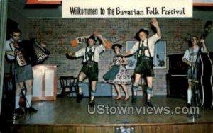Bavarian Entertainment in Frankenmuth, Michigan