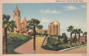 Texas Corpus Christi Spohn Park 1943 Curteich