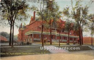Home for Aged Couples Utica NY 1913