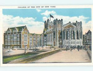 Unused W-Border BUILDINGS AT COLLEGE OF THE CITY New York City NY L9490