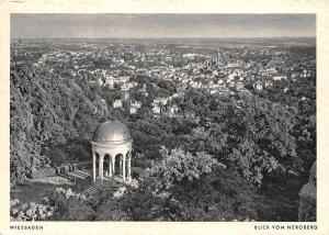 Wiesbaden Blick vom Neroberg Temple Gesamtansicht Panorama