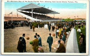 Tampa, Florida Postcard Shriners Day at the South Florida Fair c1920s Unused
